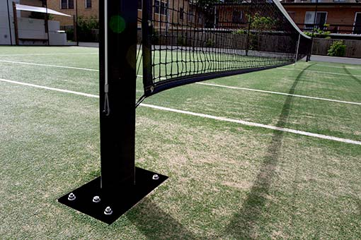 International Design Tennis Net Post